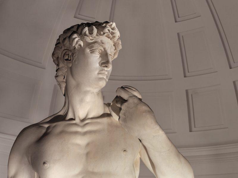 Stampa 3D del David di Michelangelo del Padiglione Italia a Expo Dubai