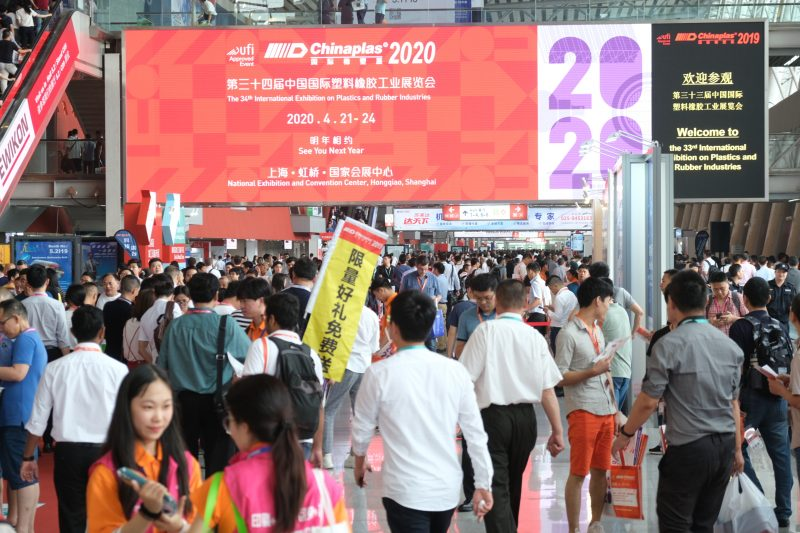 Chinaplas 2020, la fiera è rinviata