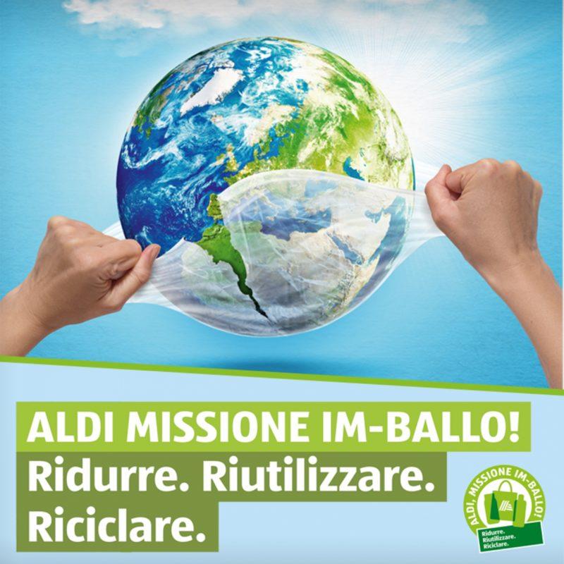 Aldi, Missione Im-Ballo!, il packaging è sempre più sostenibile