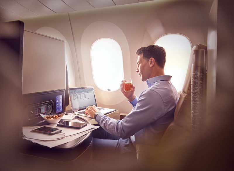 Design in volo: arredamento interno di aerei
