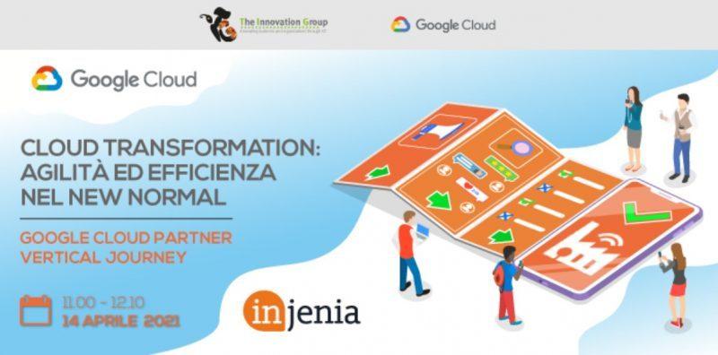 Webinar gratuito sulla Cloud Transformation: agilità ed efficienza nel New Normal