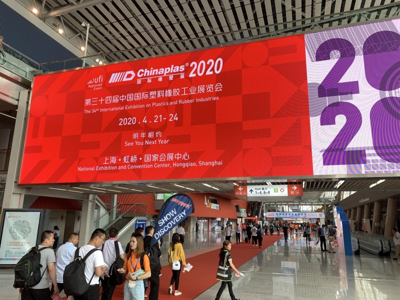 Chinaplas 2020 rinviata ad agosto