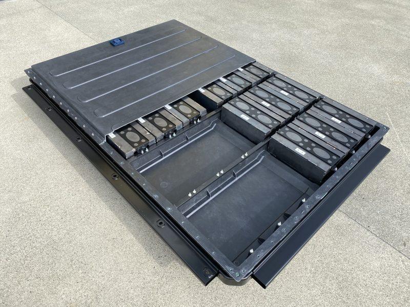 Batterie per veicoli elettrici: riduzione del peso