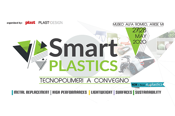 Smart Plastics 2020: l'evento dei tecnopolimeri