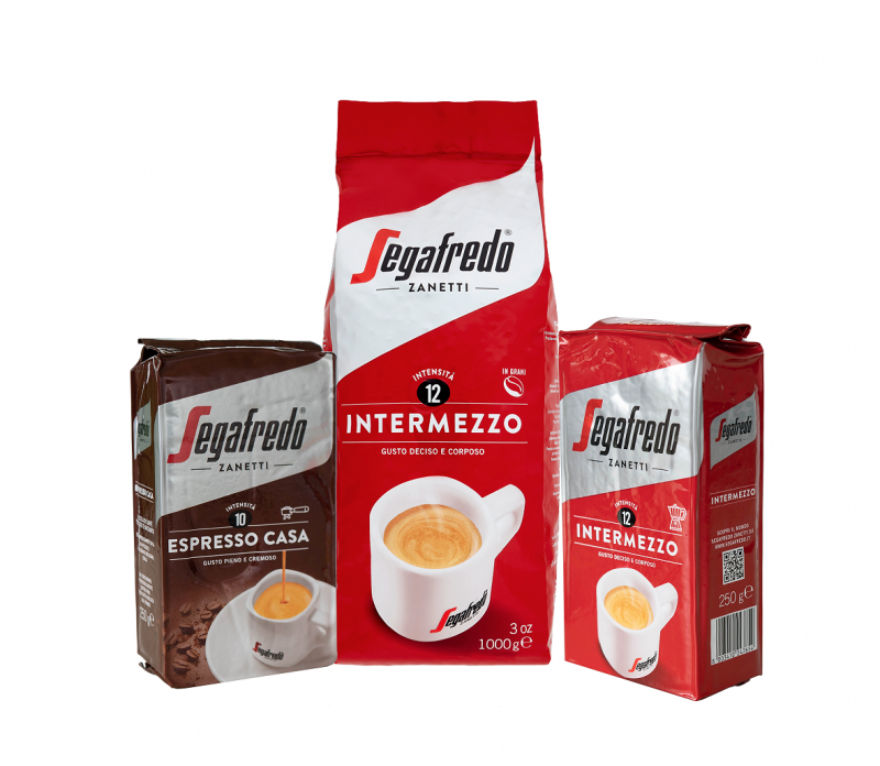 Via l'alluminio dalle confezioni di caffè Segafredo Zanetti