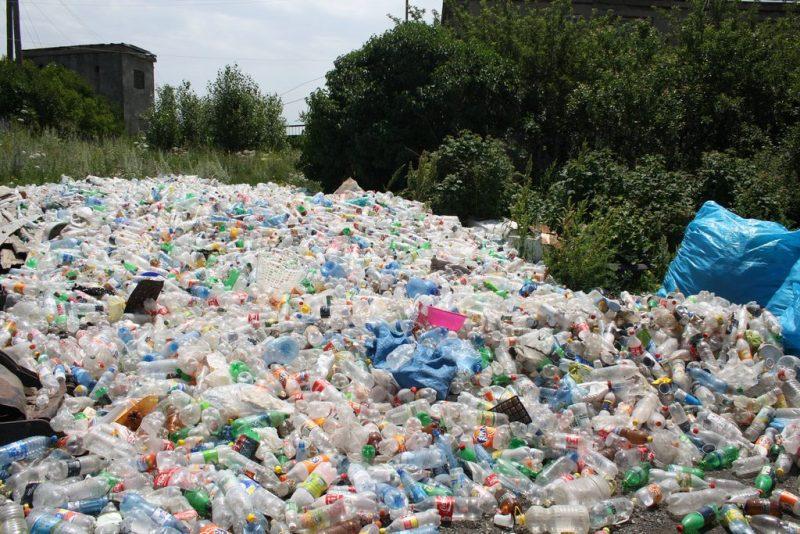 Bottiglie in PET, eco-compattatori Corepla in Basilicata