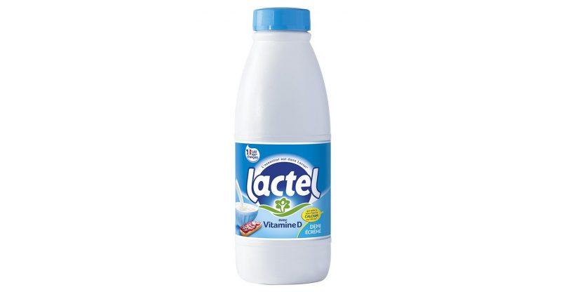 Bottiglie per latte in HDPE da riciclo post-consumo