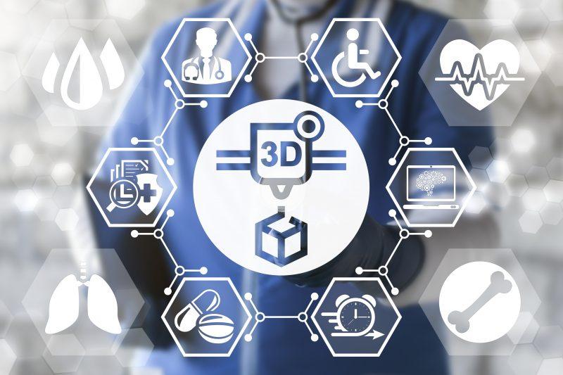 Stampa 3D: la produzione arriva in clinica