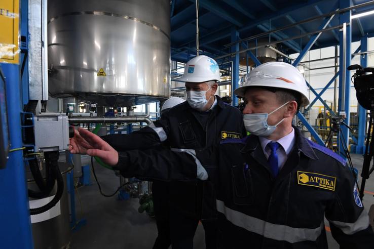 Nuovo stabilimento di resine polimeriche Attika in Russia