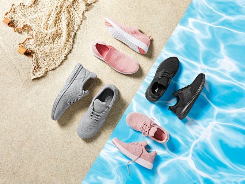 La scarpa Lidl con la plastica che viene dall'Oceano