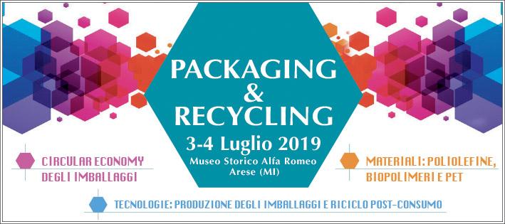 Packaging & Recycling Forum: imballaggi ed economia circolare