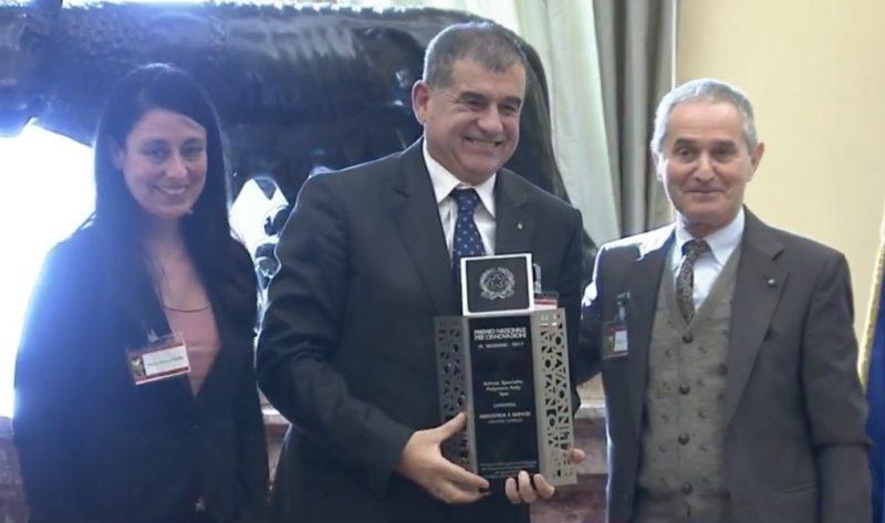 Solvay Specialty Polymers Italy riceve il Premio dei Premi 2017