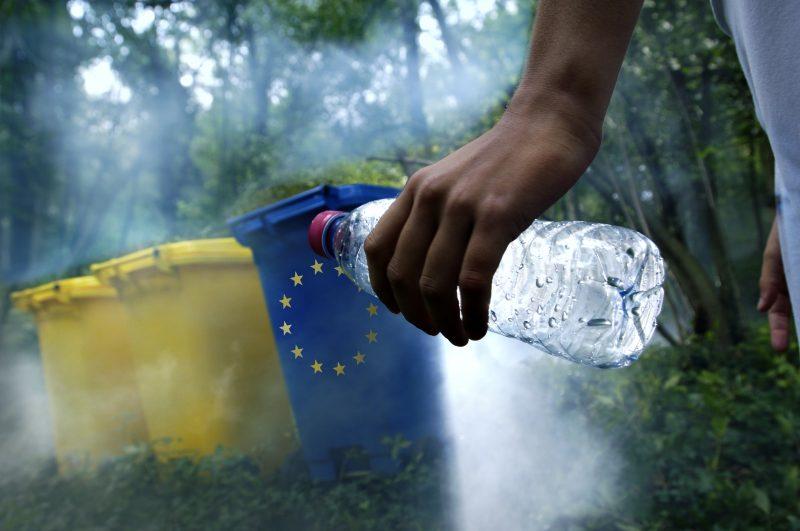 Riciclo della plastica: l'UE potrebbe mancare l'obiettivo