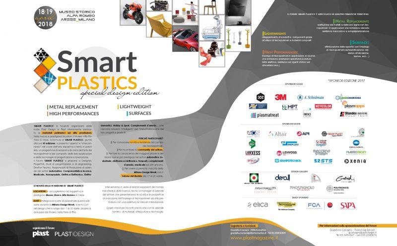 Smart Plastics, il programma