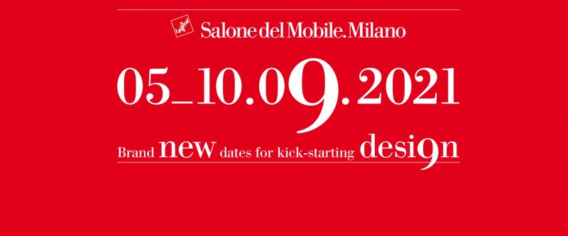 Il Salone del Mobile.Milano 2021 si sposta a settembre